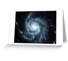 Whirlpool Galaxy [Dark Blue] | Fresh Universe Greeting Card