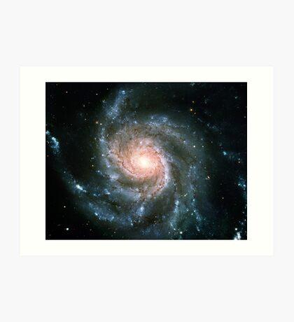Whirlpool Galaxy Original | Fresh Universe Art Print