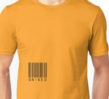 Sniked Barcoded Unisex T-Shirt
