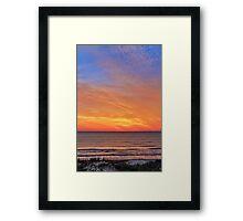 Coastal Dawn Framed Print