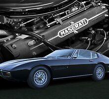 1967 Maserati Ghibli by Timothy Meissen