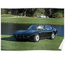 1967 Maserati Ghibli Poster