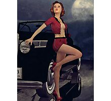 Classic Style - Pin-Up Photographic Print