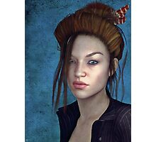 Sombre Muse Photographic Print