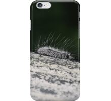 Fuzzy Caterpillar iPhone Case/Skin