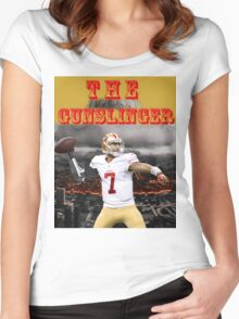 KAEP THE GUNSLINGER Women's Fitted Scoop T-Shirt
