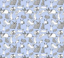 Rabbit pattern by KaijuKiller