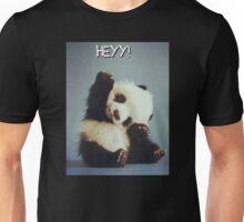 Baby Panda Hey ! Cute Bear Tumblr Unisex T-Shirt