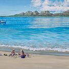Playing at Freycinet by Freda Surgenor