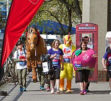 Guinness World Records London Marathon by Keith Larby