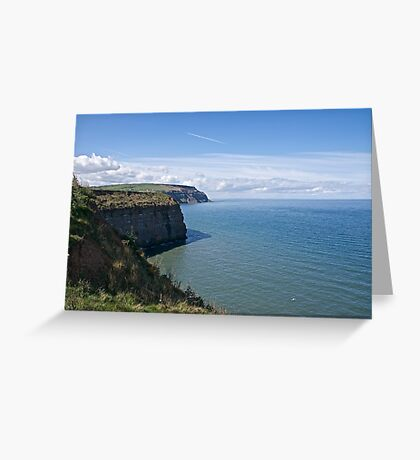 Where the land meets the sea. Greeting Card