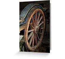 Wood & Iron Greeting Card
