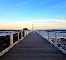 Wellington Point Pier .... Wellington Point, Qld  by Tiffany Warner Photography