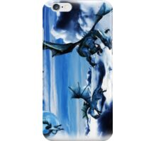 blue dragons iPhone Case/Skin