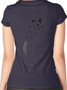 Be Free Women's Fitted Scoop T-Shirt