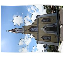 Cartoon Church Poster