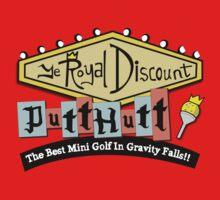 Gravity Falls Mini Golf - Slate Gray One Piece - Long Sleeve