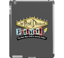 Gravity Falls Mini Golf - Slate Gray iPad Case/Skin