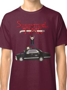 Supernatural Adventure Time Classic T-Shirt