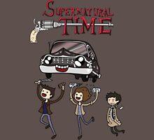 Supernatural Adventure Time Unisex T-Shirt