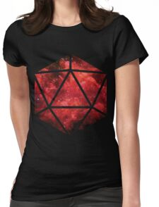 D20 Broken Sight Womens Fitted T-Shirt