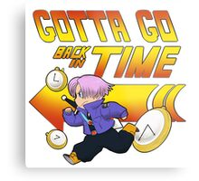 Time Traveling Trunks! Metal Print
