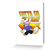 Time Traveling Trunks! Greeting Card