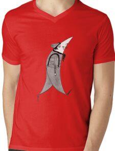 French Hipster Mens V-Neck T-Shirt