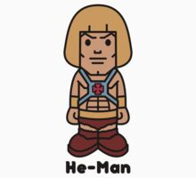 He-Man cartoon by JamesShannon