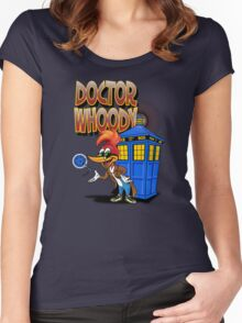 DOCTOR WHOODY Women's Fitted Scoop T-Shirt