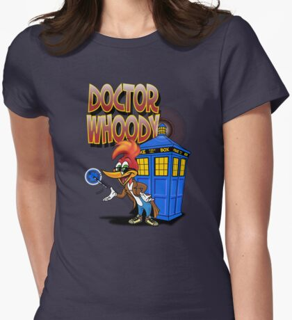 DOCTOR WHOODY Womens Fitted T-Shirt