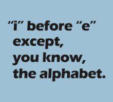 Grammar - Black Kids Tee
