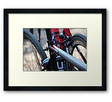 Taylor Phinney's Bike at 2013 Paris Roubaix Framed Print