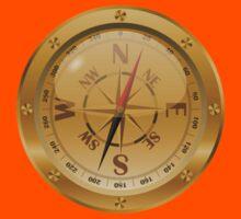 Golden Compass - Steampunk Kids Tee