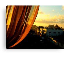 Sunrise on Calle Seis Canvas Print