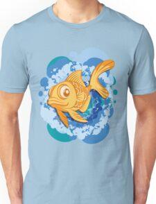 Golden fishV2 Unisex T-Shirt