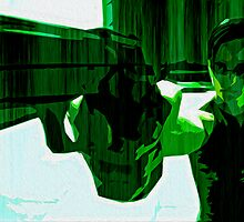 The Matrix: Dodge This Print by Colin Bradley