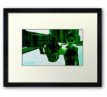 The Matrix: Dodge This Print Framed Print