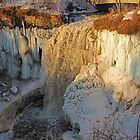 Minnehaha Falls and Ice by Gary Horner