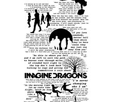 Imagine Dragons Collage by nicole333
