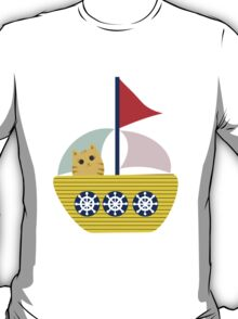 Sailing Cat T-Shirt
