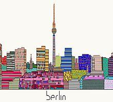 Berlin city skyline  by bri-b