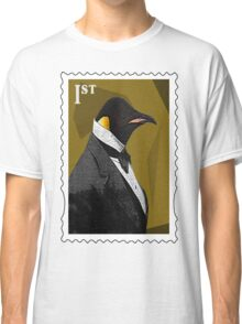 Old Timey Penguin Classic T-Shirt