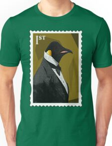 Old Timey Penguin Unisex T-Shirt