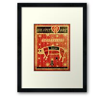 Love Art Framed Print