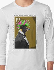 Punk Penguin Long Sleeve T-Shirt