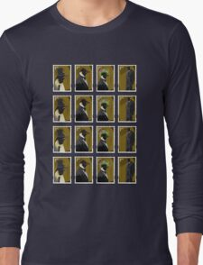 Penguin Stamps Long Sleeve T-Shirt