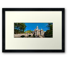 Fantasyland Castle Framed Print