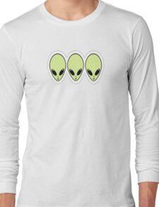 Aliens do rock Long Sleeve T-Shirt