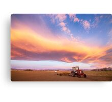 Rural Turbo Country Sky Canvas Print